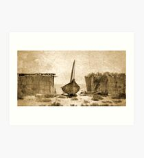 Traditional Boat Art Print
