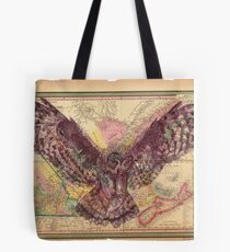 The Hunters Map Tote Bag