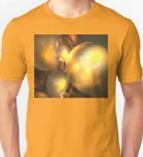 Mars Gold Orbit Unisex T-Shirt