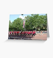 Trooping the Gards Greeting Card