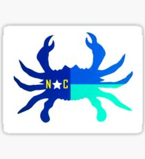 Nautical NC CRAB Sticker