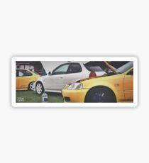 Honda Civic EKs Sticker