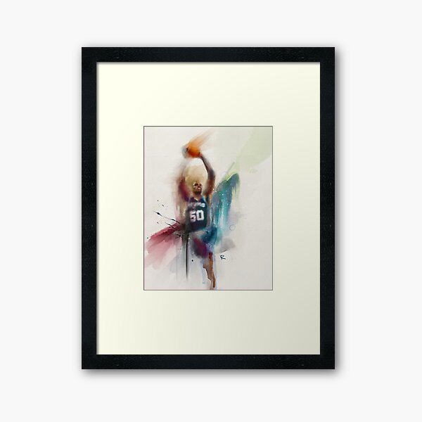 David Robinson Watercolor Framed Art Print