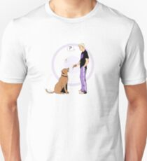 Hawkguy and Pizza Dog (color) Unisex T-Shirt