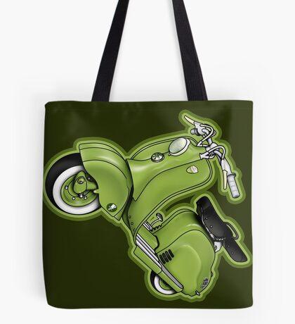 Scooter T-shirts Art: LD 150 - 1955 vintage scooter illustration Tote Bag