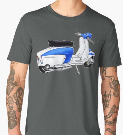 Scooter T-shirts Art: TV 175 Lambretta illustration Men's Premium T-Shirt