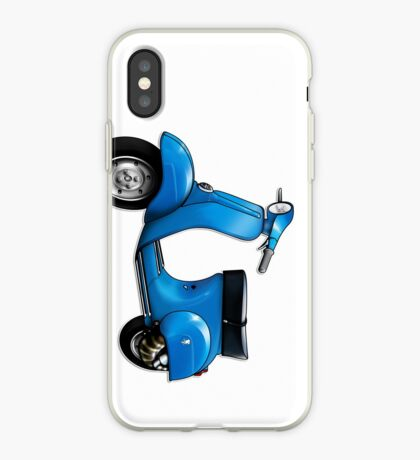 Scooter T-shirts Art: Small Frame Hot Rod scooter  iPhone Case