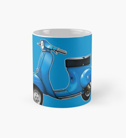 Scooter T-shirts Art: Small Frame Hot Rod scooter  Mug