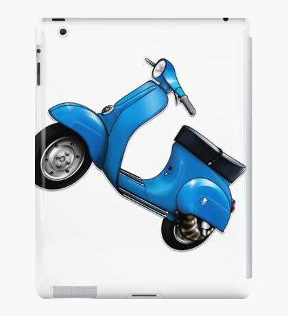 Scooter T-shirts Art: Small Frame Hot Rod scooter  iPad Case/Skin