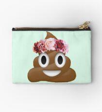 Blume Krone Poop Emoji Hipster Tumblr Täschchen