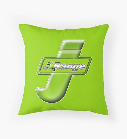 Scooter T-shirts Art: J Range scooter design Throw Pillow
