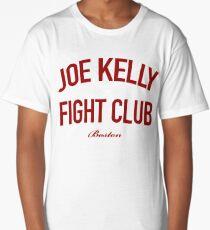Red Tee Joe Kelly Fight Club Shirt for Boston Fans Long T-Shirt