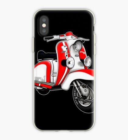 Scooter T-shirts Art: TV 175 Series 1 Mod style racer. iPhone Case