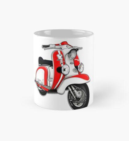 Scooter T-shirts Art: TV 175 Series 1 Mod style racer. Mug