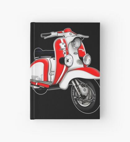 Scooter T-shirts Art: TV 175 Series 1 Mod style racer. Hardcover Journal