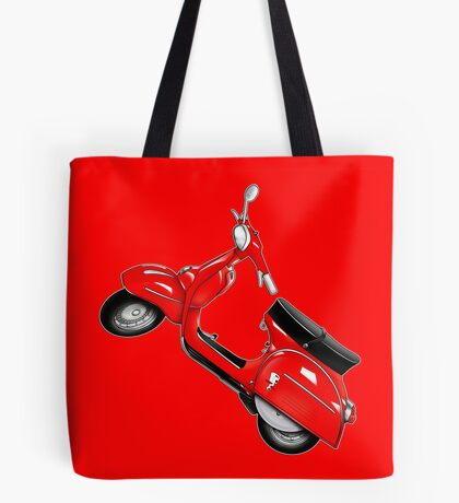 Scooter T-shirts Art: SS 180 Scooter Design Tote Bag