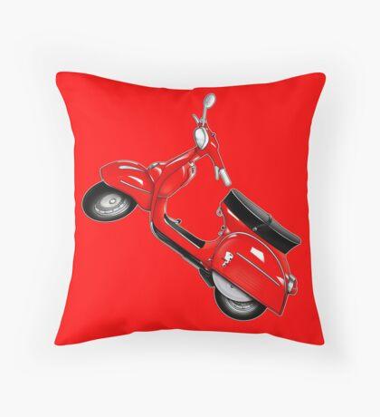 Scooter T-shirts Art: SS 180 Scooter Design Throw Pillow