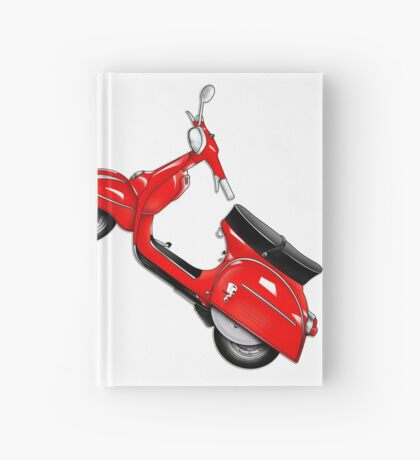 Scooter T-shirts Art: SS 180 Scooter Design Hardcover Journal