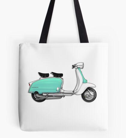 Scooter T-shirts Art: 1960s Li 125 Series 3 Innocenti Scooter Design Tote Bag