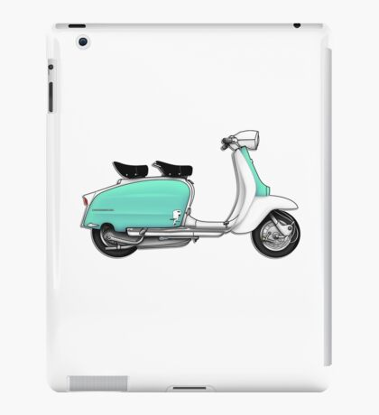 Scooter T-shirts Art: 1960s Li 125 Series 3 Innocenti Scooter Design iPad Case/Skin