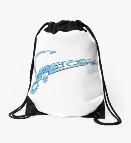 Scooter T-shirts Art: ASD Special Badge Design Drawstring Bag