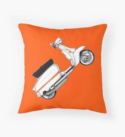Scooter T-shirts Art: Serveta Li 150 Special Throw Pillow