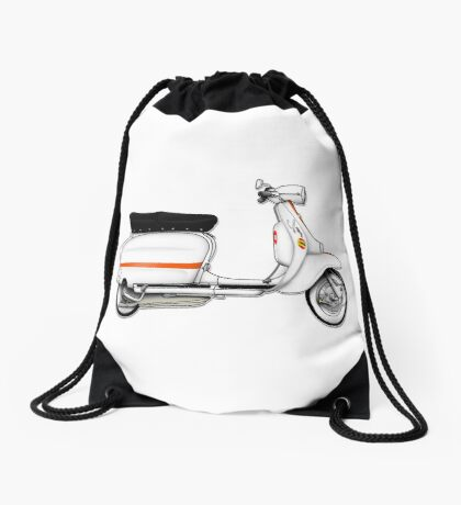 Scooter T-shirts Art: Serveta Li 150 Special Drawstring Bag
