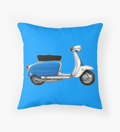 Scooter T-shirts Art: Serveta Li 150 Special, Original Color Design Throw Pillow