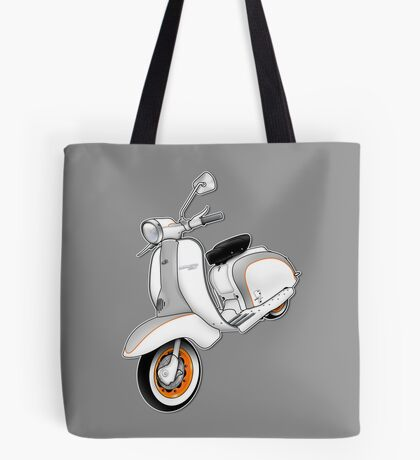 Scooter T-shirts Art: 1961 Series 2 Li 150 Scooter Design Tote Bag