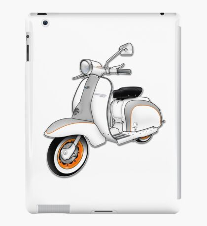 Scooter T-shirts Art: 1961 Series 2 Li 150 Scooter Design iPad Case/Skin