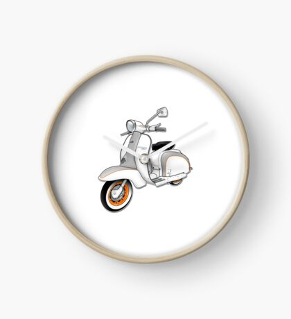 Scooter T-shirts Art: 1961 Series 2 Li 150 Scooter Design Clock