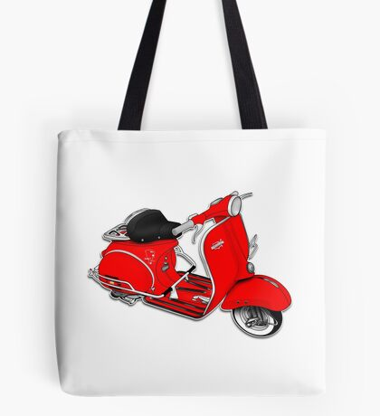 Scooter T-shirts Art: 1961 Allstate Scooter Design Tote Bag