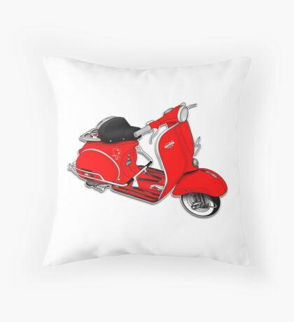 Scooter T-shirts Art: 1961 Allstate Scooter Design Throw Pillow
