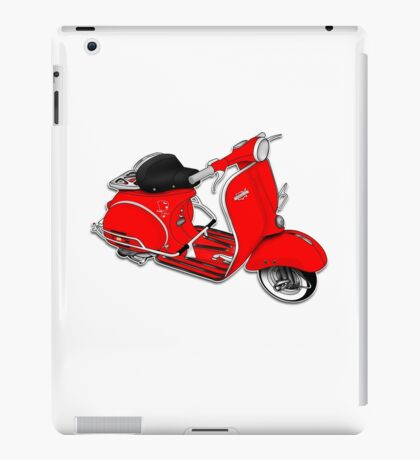 Scooter T-shirts Art: 1961 Allstate Scooter Design iPad Case/Skin