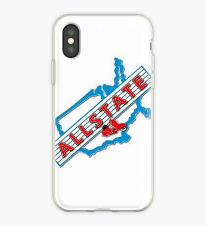 Scooter T-shirts Art: Allstate Logo Design iPhone Case