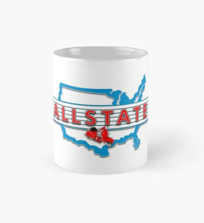 Scooter T-shirts Art: Allstate Logo Design Mug