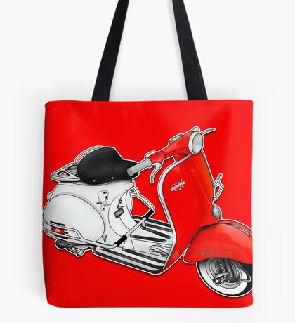 Scooter T-shirts Art: 1960 Allstate Scooter Design Tote Bag