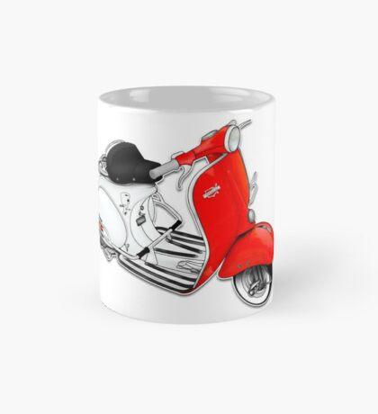 Scooter T-shirts Art: 1960 Allstate Scooter Design Mug