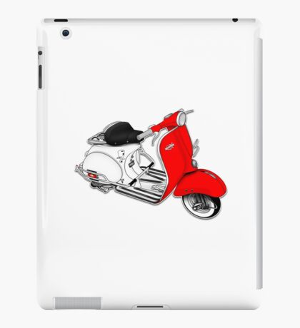 Scooter T-shirts Art: 1960 Allstate Scooter Design iPad Case/Skin