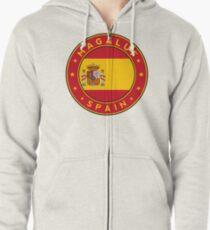 Magaluf, Magaluf sticker, Magaluf t-shirt, Spain, Cities of Spain Zipped Hoodie