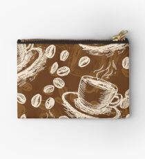 Coffee Cup Style Art Studio Pouch