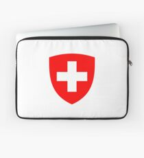 Coat of arms of Switzerland Laptop Sleeve