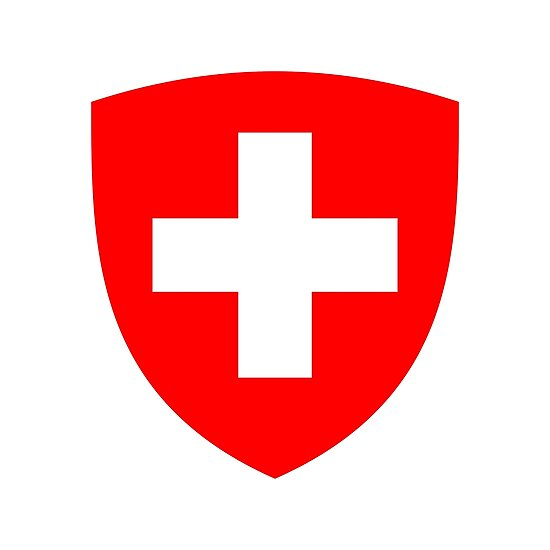 Coat of arms of Switzerland by fourretout