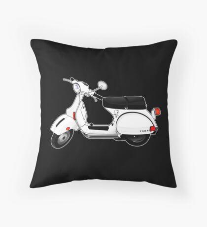 Scooter T-shirts Art: P Series Scooter Design Throw Pillow