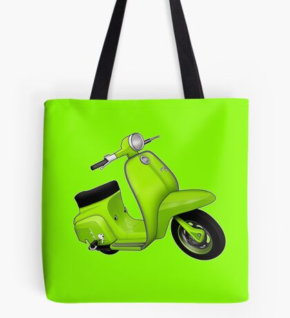 Scooter T-shirts Art: J50 Deluxe Scooter Design Tote Bag