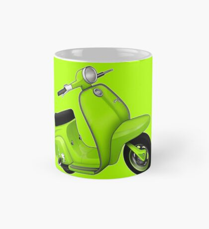 Scooter T-shirts Art: J50 Deluxe Scooter Design Mug