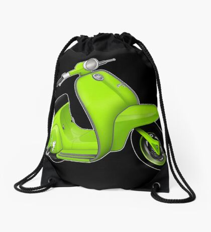 Scooter T-shirts Art: J50 Deluxe Scooter Design Drawstring Bag