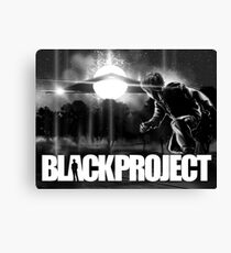 BLACK PROJECT 'ENCOUNTER'  Canvas Print