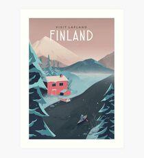 Finnland Reise Kunst Kunstdruck
