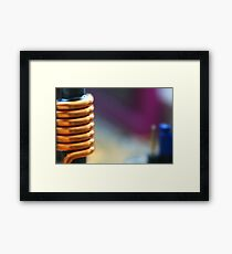 All wound up Framed Print
